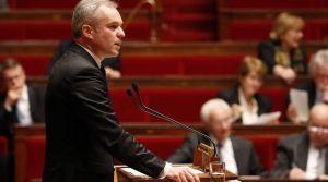 Le député François de Rugy préside la séance du 8 décembre 2016 sur la prise en charge de l'autisme.